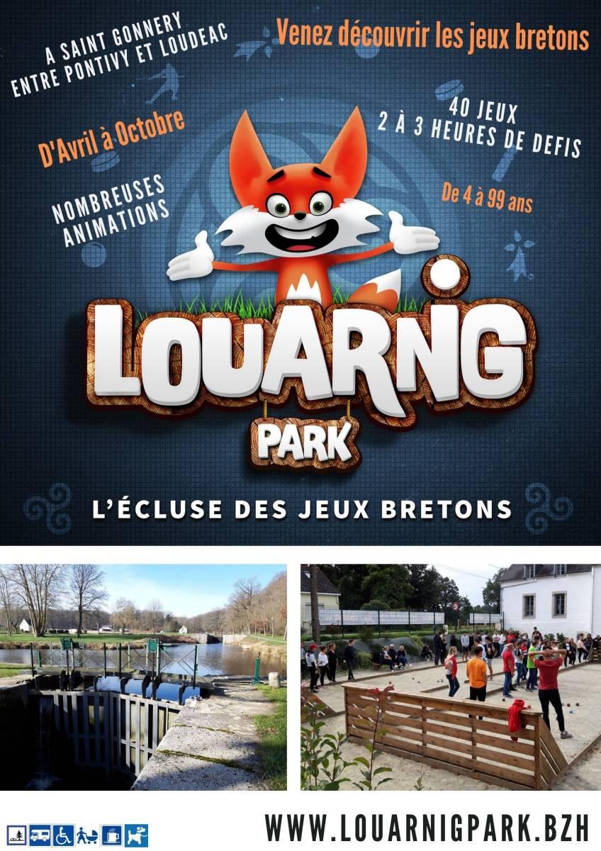Affiche du Louarnig Park - 2021
