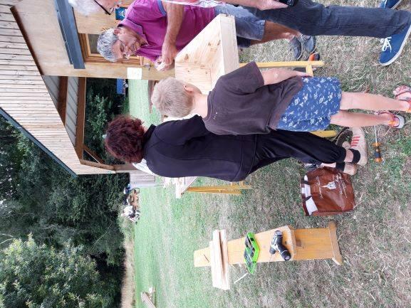 Fabrication de jeux bretons au Louarnig Park